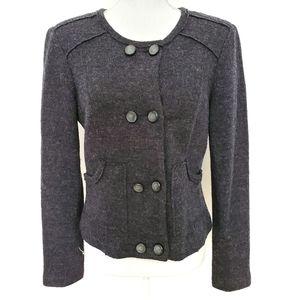 CAbi My Fair Jacket 100% Wool Cardigan